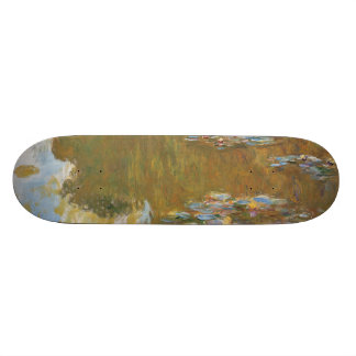 Water Lily Pond by Claude Monet Skateboard