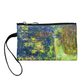 Water Lily Pond Claude Monet cool, old, master, ma Coin Wallet