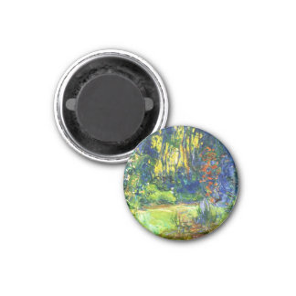 Water Lily Pond Claude Monet cool, old, master, ma Refrigerator Magnet