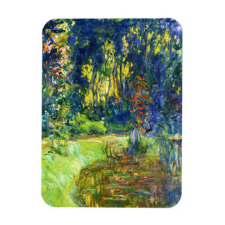 Water Lily Pond Claude Monet cool, old, master, ma Rectangle Magnets
