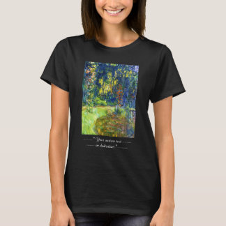 Water Lily Pond Claude Monet cool, old, master, ma T-Shirt