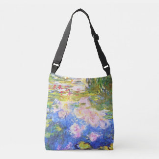 Water Lily Pond Claude Monet Crossbody Bag