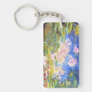 Water Lily Pond Claude Monet Keychain