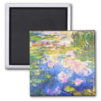 Water Lily Pond Claude Monet Magnet