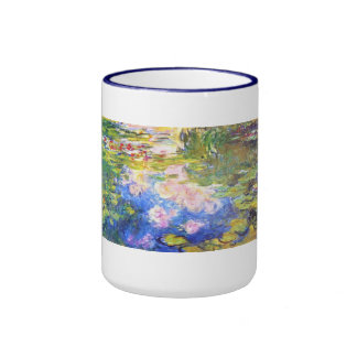 Water Lily Pond Claude Monet Coffee Mugs