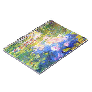 Water Lily Pond Claude Monet Notebook