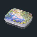 "Water Lily Pond Claude Monet painting art Jelly Belly Tin<br><div class=""desc"">Water Lily Pond Claude Monet</div>"