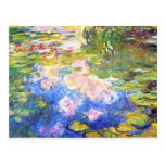 Water Lily Pond Claude Monet Postcards