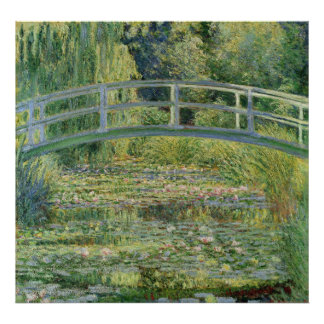 Water Lily Pond - Claude Monet Poster