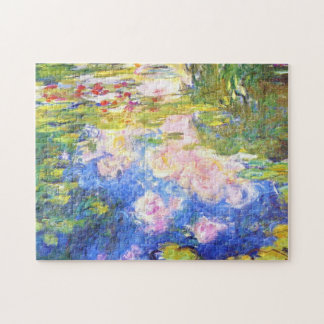 Water Lily Pond Claude Monet Jigsaw Puzzle