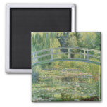 Water Lily Pond - Claude Monet Refrigerator Magnet