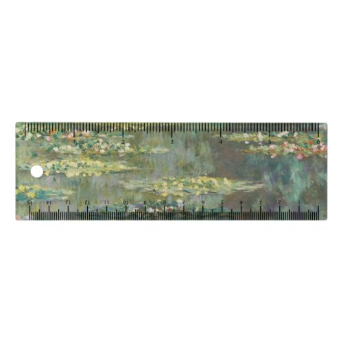 Water Lily Pond Claude Monet Ruler