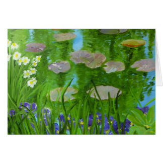 Water Lily Pond: Giverny, France Card