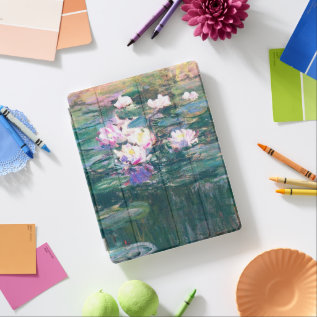 Water Lily Pond Monet Fine Art Ipad Smart Cover at Zazzle