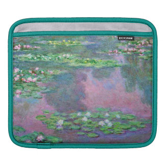 Water Lily Pond Reflections iPad Sleeve