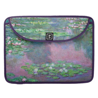 Water Lily Pond Reflections Monet Fine Art Sleeve For MacBook Pro