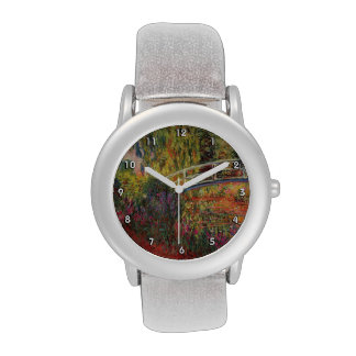 Water Lily Pond Wristwatches