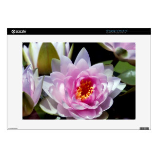 """Water Lily Skin 15"""" Laptop Decals"""