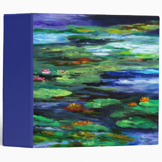 Water Lily Somnolence 2010 Binder