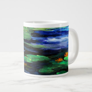 Water Lily Somnolence 2010 Large Coffee Mug