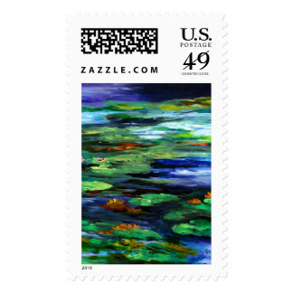 Water Lily Somnolence 2010 Postage Stamp