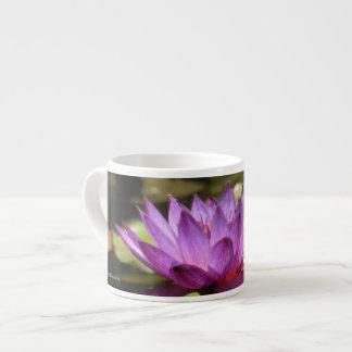 Water Lily Specialty Mug 6 Oz Ceramic Espresso Cup