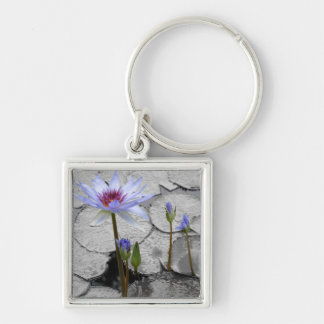 Water Lily Standing Beauty Keychain