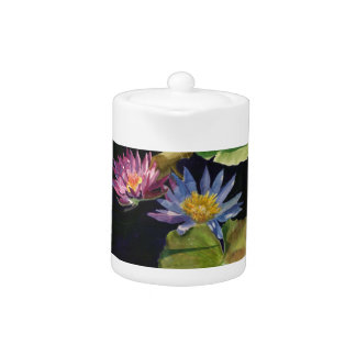 Water Lily Teapot