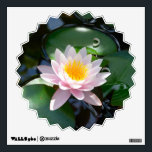 """water lily Wall Decal<br><div class=""""desc"""">Color photo of water lily</div>"""