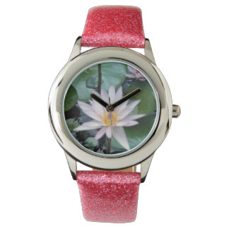 Water Lily Wrist Watches