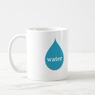 Water logo coffee mug