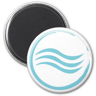 Water Logo Magnet