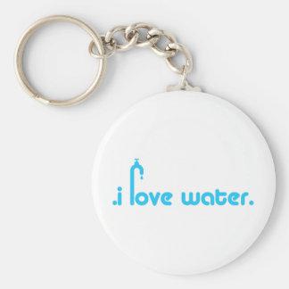 Water Lover Design! Keychain