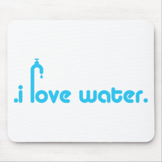 Water Lover Design! Mouse Pads