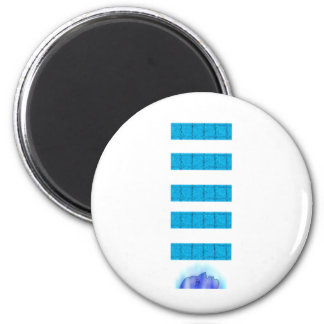 Water Magic Head Up 2 Inch Round Magnet