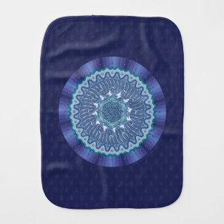 Water Mandala Burp Cloth