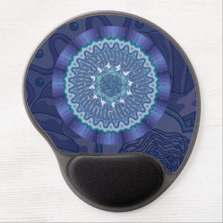 Water Mandala Gel Mousepad