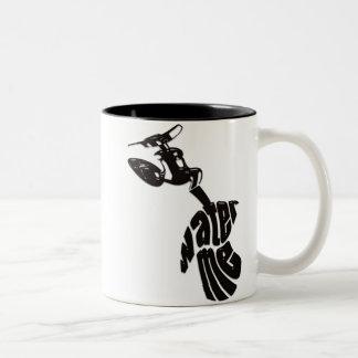 WATER_ME Two-Tone COFFEE MUG