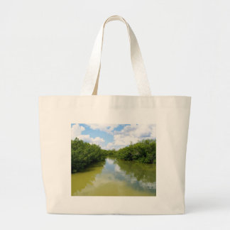 Water Meets Sky Canvas Bags