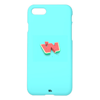 Water mellon Blue iPhone 8/7 Case