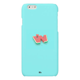 Water mellon Blue Matte iPhone 6 Case