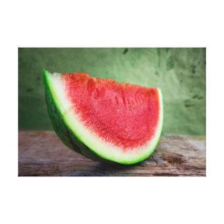 Water Melon Gallery Wrap Canvas