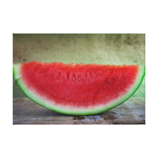 Water Melon Canvas Prints