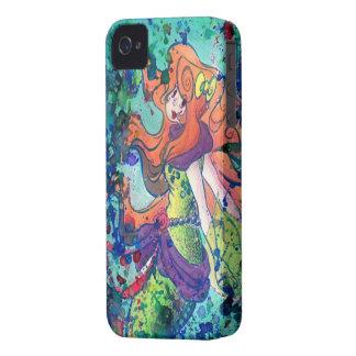 Water Mermaid Blackberry Case