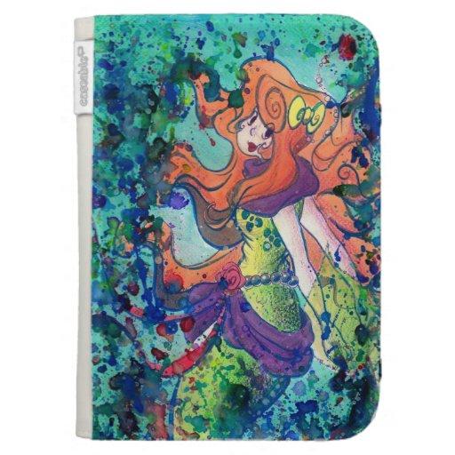 Water Mermaid Kindle Folio Cases