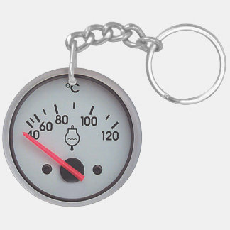 """""""Water Meter"""" design gifts and products Keychain"""