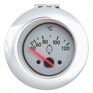 """""""Water Meter"""" design gifts and products Vanity Mirrors"""