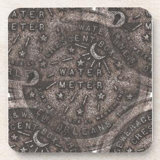 Water Meter Lid Beverage Coaster