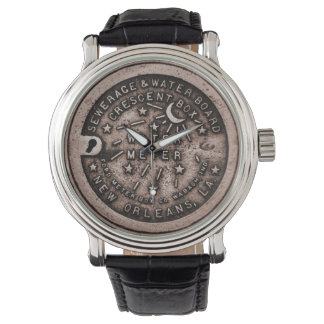 Water Meter Lid Clock Face Watches