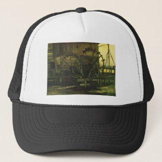 Water Mill at Gennep,Vincent van Gogh Trucker Hat